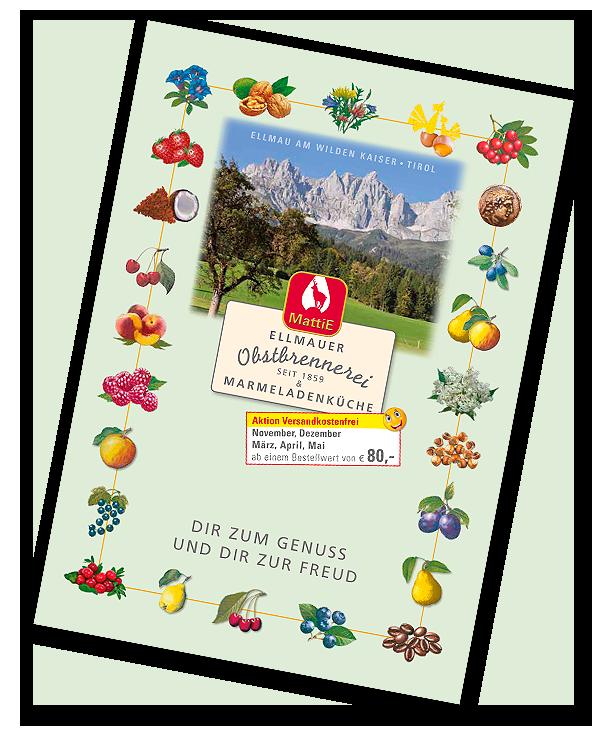 Aktuelle Obstbrennerei-MattiE Preisliste 2020